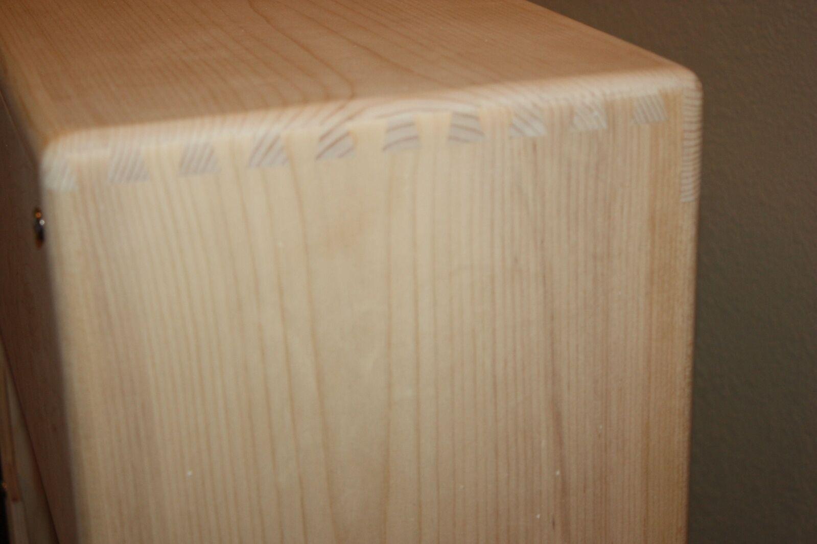 Rawcabs 4x10 extensión de Pino Pino Pino estrecho Panel Bassman sin rematar Gabinete Altavoz 16ea37