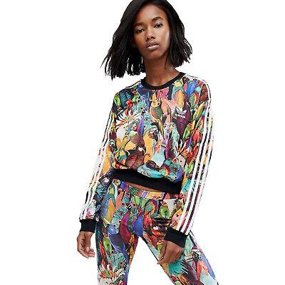 adidas Originals The Farm Company Passaredo Crop Sweatshirt