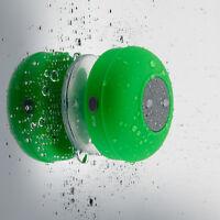 Waterproof Wireless Bluetooth Speaker Handsfree Mic Suction Shower Mount on sale