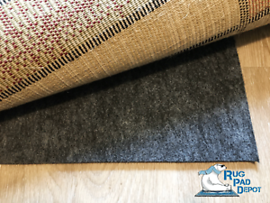 """Non-Slip Rug Pad Reversible Use 3//8/"""" Thickness Use On Carpet or Hard Surface"""