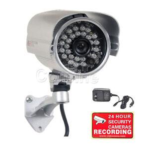 700TVL Outdoor Security Camera w// SONY Effio CCD 28 IR LED Night  Wide Angle 1pa