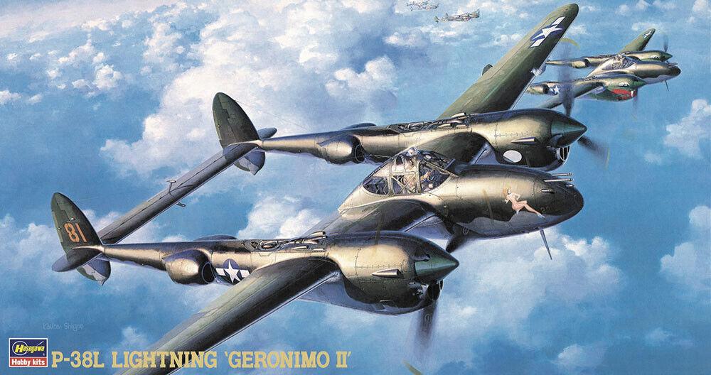 Eduard Zoom fe1042 1//48 Lockheed p-38g Lightning Tamiya