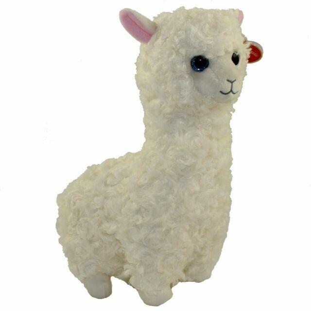 Ty Beanie Babies 96316 Lily the Llama Alpaca Classic