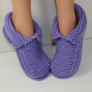 KNITTING-KNITTING-INSTRUCTIONS-ADULT-CHUNKY-SLIPPERS-KNITTING-PATTERN