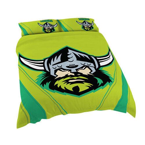 North QLD Queensland Cowboys NRL DOUBLE Bed Quilt Doona Duvet Cover Set NEW 2019