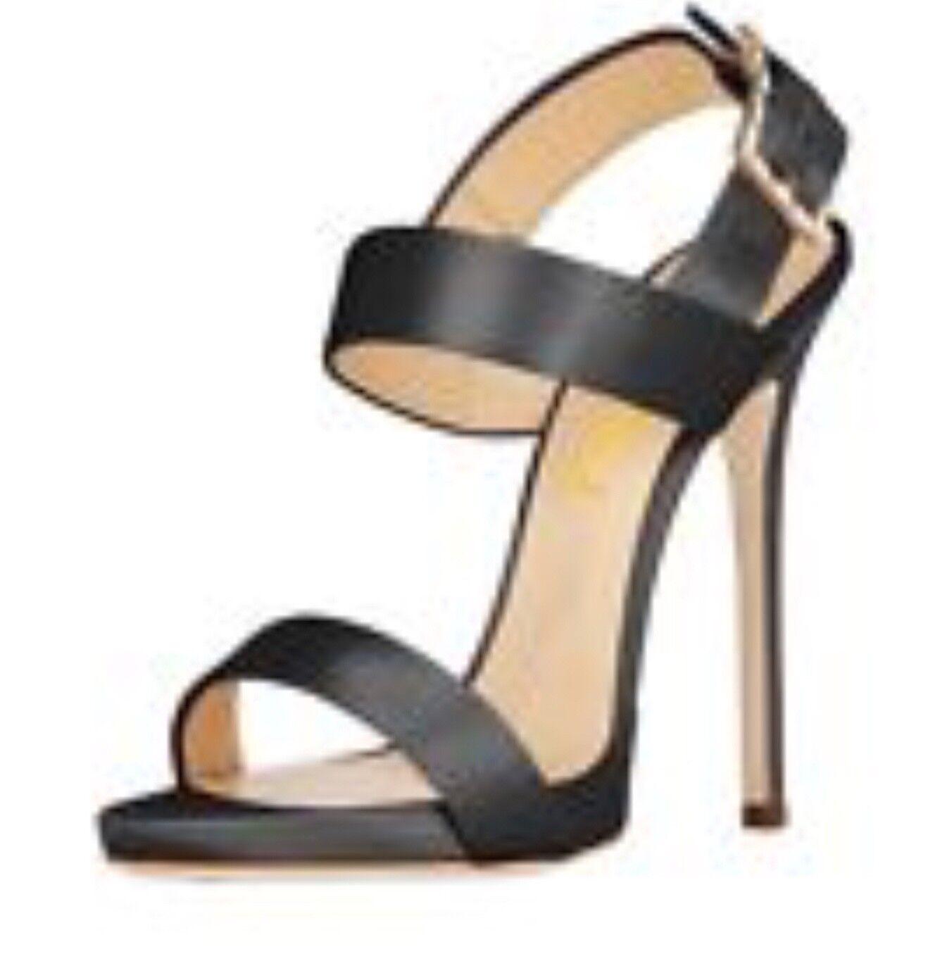 Women Open Toe High Heel Stiletto Sandals Slingback Strap Shoes Crossdresser