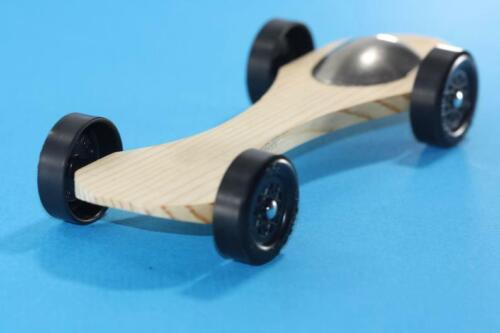 Winning Rail Riding Rider Pinewood Derby Car #8 Canopy Customize to your Rules