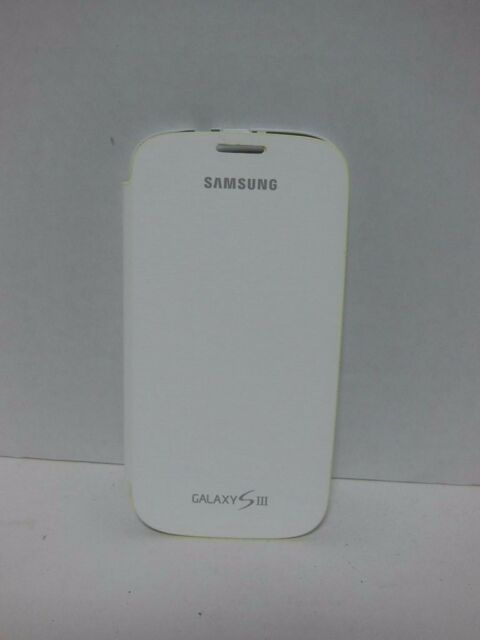 Samsung Galaxy Siii S3 Protective Flip Cover Brown Folio Case Efc 1g6faegsta For Sale Online Ebay