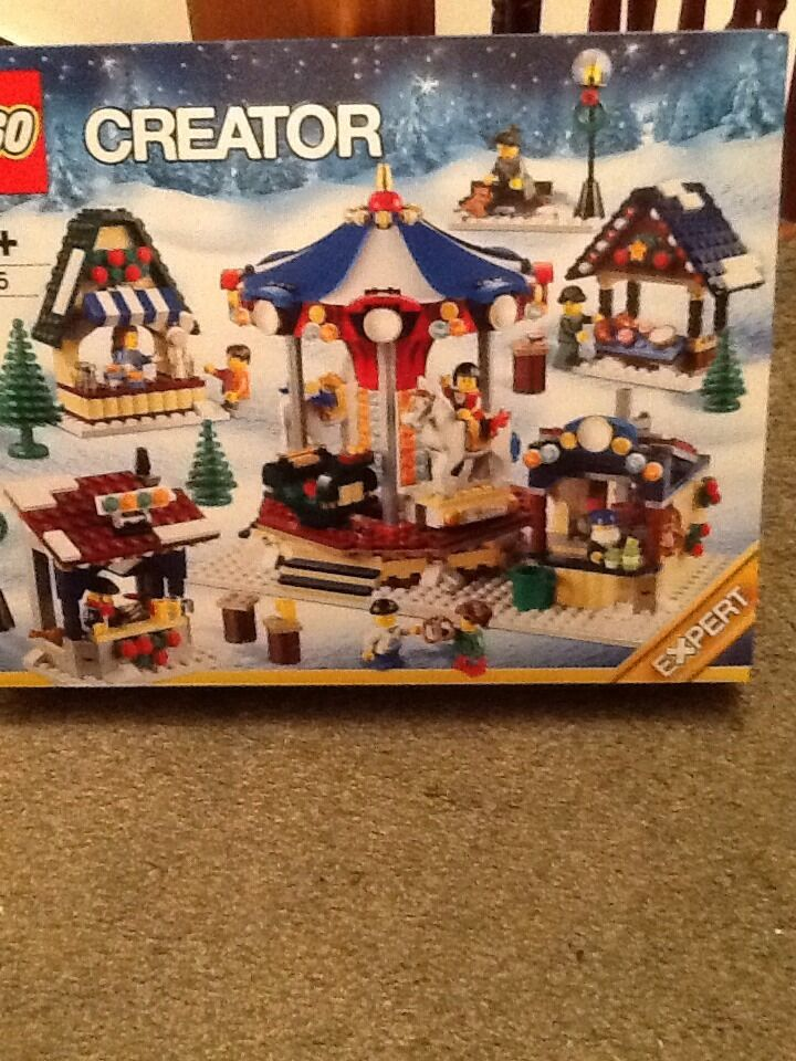 Brand New and Sealed LEGO - 10235 Winter Village Market