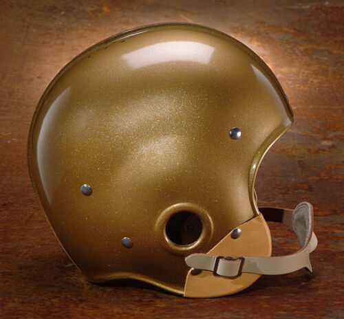 1949 NATIONAL CHAMPS NOTRE DAME FIGHTING IRISH Authentic GAMEDAY Football Helmet