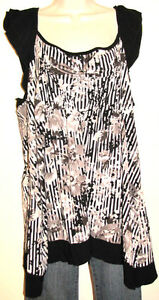 6b7fd0ef5 New Directions Woman Flutter Sleeve Top w Asymmetrical Hem Plus Size ...