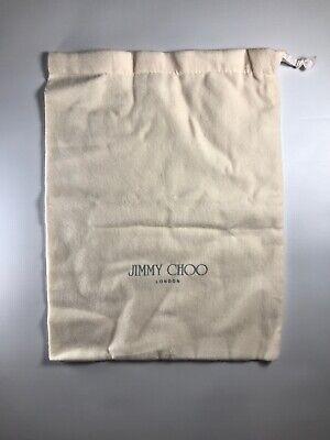 AUTHENTIC JIMMY CHOO Dust Bag Shoes Handbag Storage 14X10.5