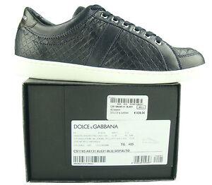 €325 DOLCE   GABBANA D G Scarpe uomo Sneakers MAN shoes HERRENSHUHE ... d4cafe9842d