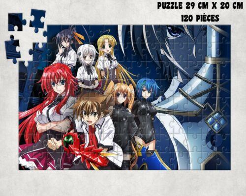puzzle HIGH SCHOOL DXD MANGA