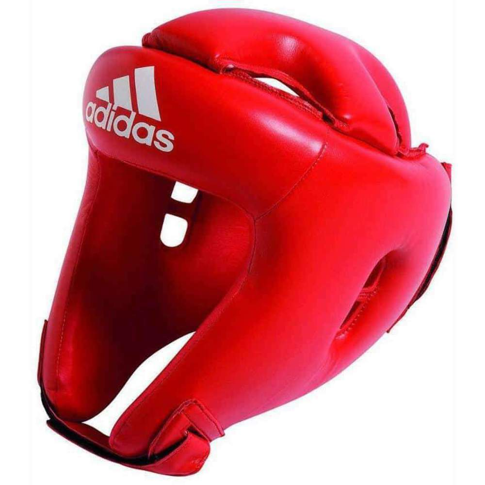 Adidas Junior Kids Competition  Head Gear Guard bluee Red  is discounted