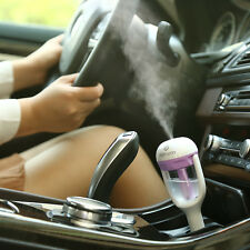 Car Humidifier Air Purifier Freshener Aromatherapy Essential oil Diffuser Purple