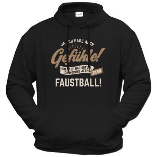 Getshirts-occhio ® regali-HOODIE-gefuehle-io firmassi Sport-si verifica...
