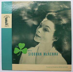 Details about Siobhan McKenna William Butler Yeats Ireland Spoken Word LP  1962