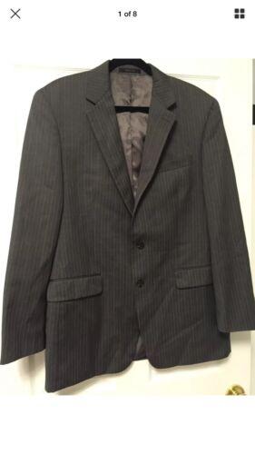 Gessato Lauren giacca giacca Ralph a 42L righe da Nuova grigie x84TwgTY
