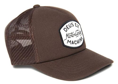 Deus Ex Machina Vrod Trucker Cap Brown Größe Einheitsgröße