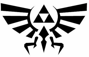 Legend-of-Zelda-Hyrule-Crest-Vinyl-Decal-TriForce-Laptop-Window-Sticker-wall