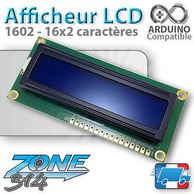 Afficheur LCD 16x2 1602 Arduino rétroéclairage ( Bleu / Blue ou Jaune / Yellow )