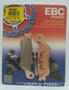 EBC Sintered RACE FRONT Disc Brake Pads Fits YAMAHA YZ250 (2008 to 2018) (2T)