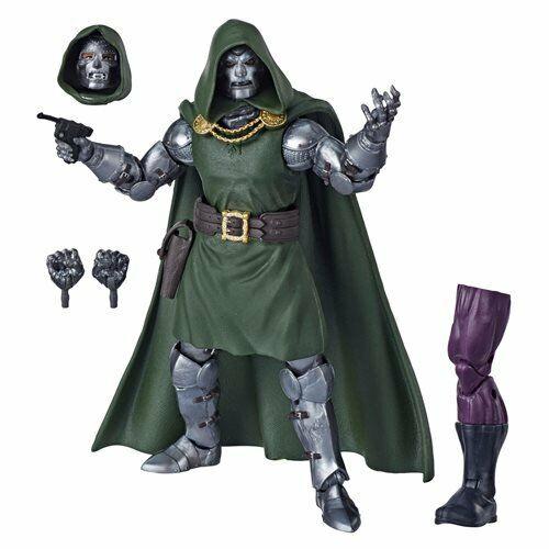 Marvel LegendsFantastic FourDoctor DoomSuper Skull BAF6-Inch Figure