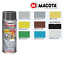 Indexbild 2 - VERNICE SPRAY SMALTO SPECIALE PER CERCHIONI CERCHI MACOTA ANTIGRAFFIO 400ML