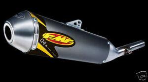 FMF Racing Q4 Quiet Exhaust Muffler for Suzuki LTZ250 LT-Z 250 03-10 Slip-On Q4