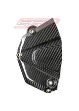 Yamaha R6 Front Chain Sprocket Guard Panel Cover 100% Twill Carbon Fiber Fibre