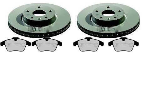 RANGER ROVER EVOQUE Front brake discs /& Pad Quality Freinage