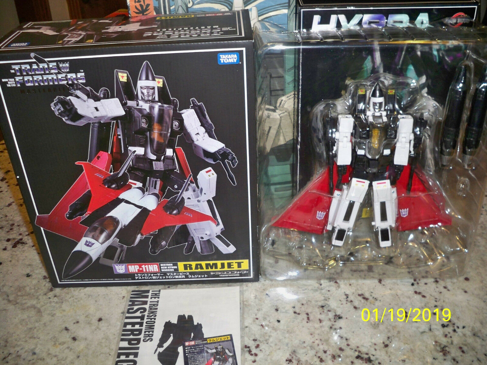 Takara MP-11NR Ramjet New in opened box Official figure