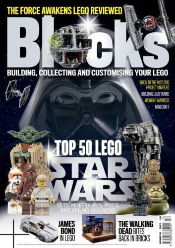 James Bond nuova emissione posteriore I blocchi MAGAZINE numero 13-TOP 50 LEGO Star Wars