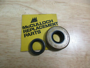 Details about NOS Genuine McCulloch Chainsaw Crank Seals Pro Mac 700 850 SP  80 81 800 805 8200