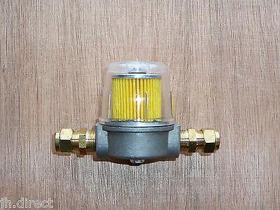 10mm 3/8 Plastic Bowl Oil Filter Heating Boiler Tank