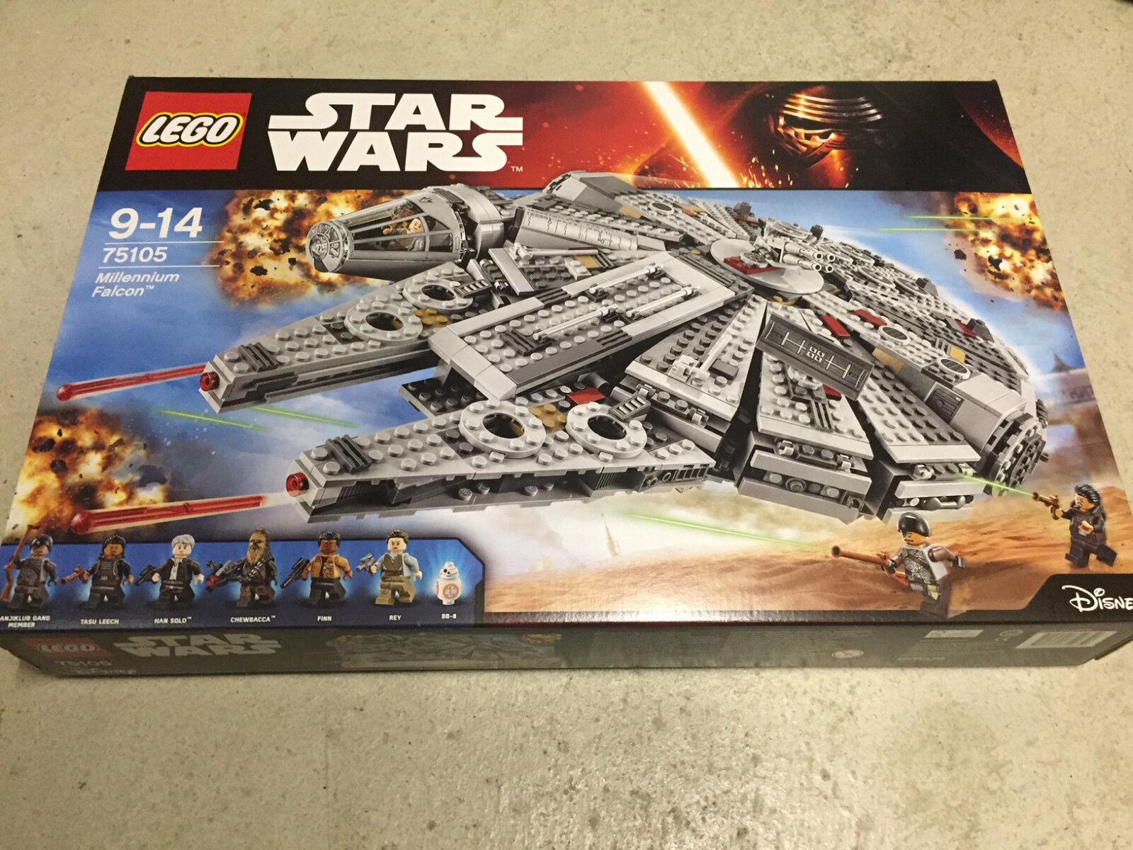 LEGO Star Wars 75105 - Millenium Falcon NEU