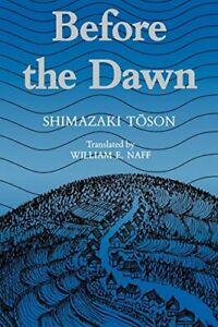 Shimazaki-Before-the-Dawn-Paper-Shimazaki-Toson-9780824811648-New