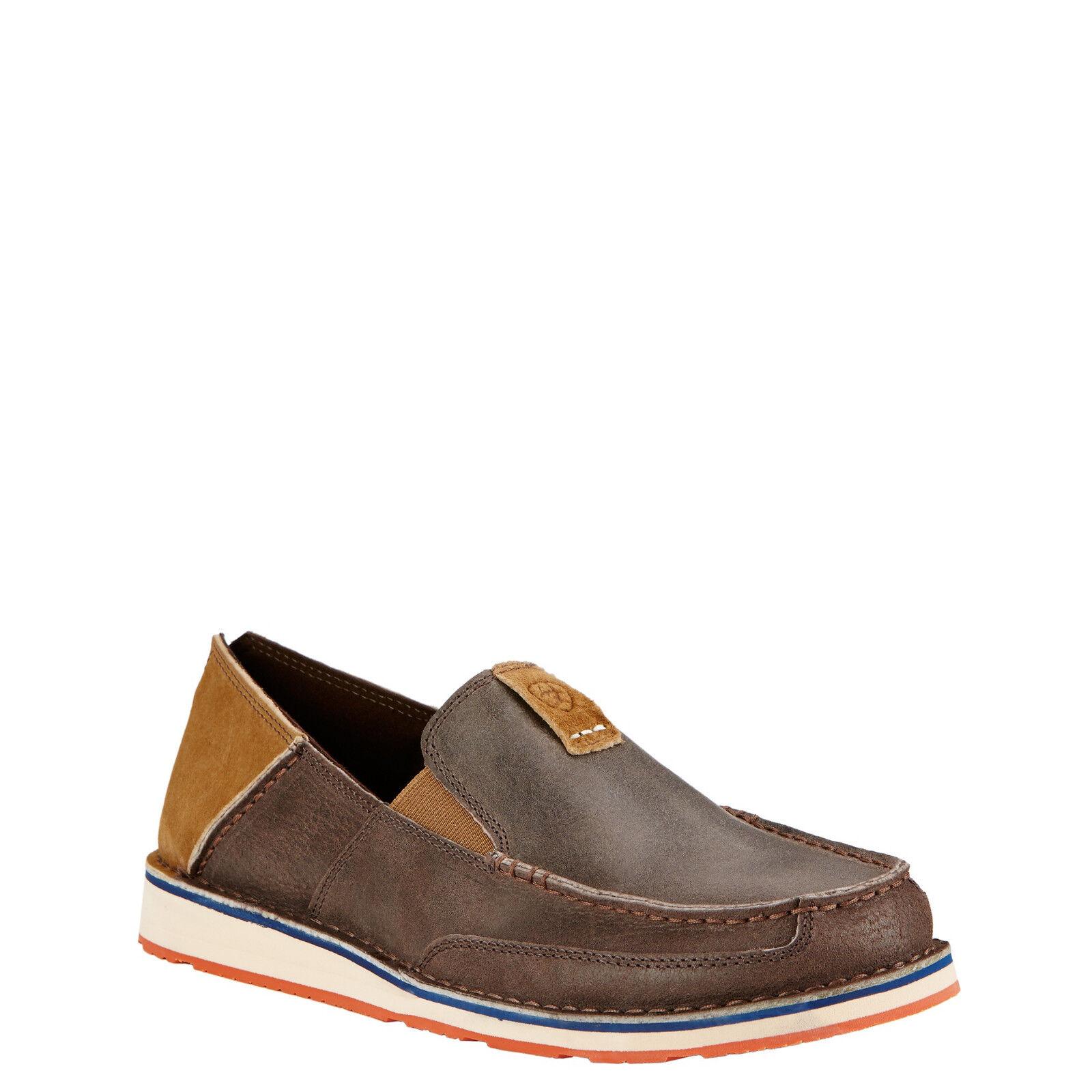 Ariat® Men's Cruiser Earth & Hunter Brown Slip On shoes 10017450