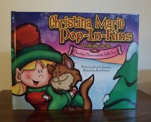 Christina Marie Pop-In-Kins Elf Storybook Large-Size Hardcover - Book Only