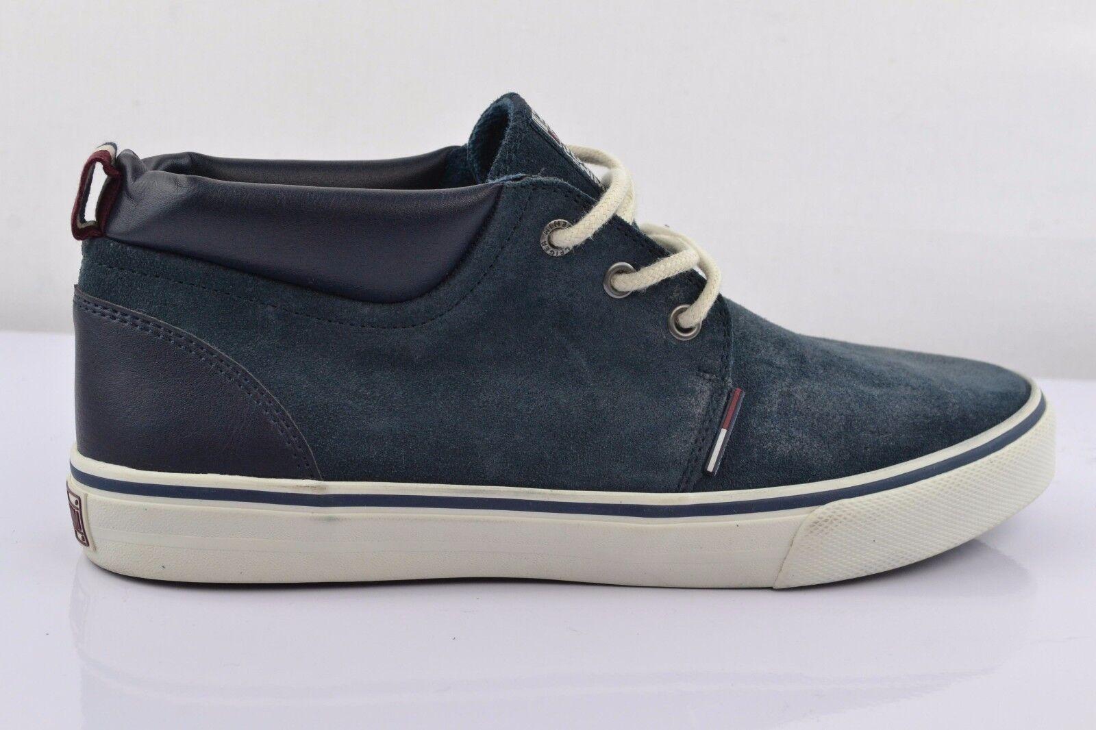 Tommy Hilfiger Vic 5B Blu Scarpe Sneakers Tgl 42 Uomo Man Scarpe classiche da uomo
