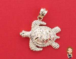 Turtle charm made of 14k gold turtle pendant solid gold charm image is loading turtle charm made of 14k gold turtle pendant aloadofball Image collections