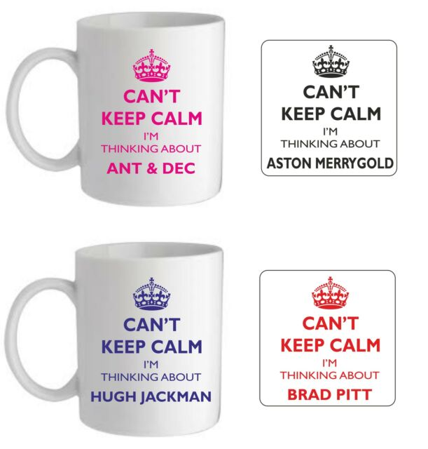 Printed Mug Christmas Stocking Filler I Love Ant And Dec Ideal Gift!
