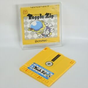 Famicom-Disk-TOPPLE-ZIP-No-Instruction-Nintendo-dk