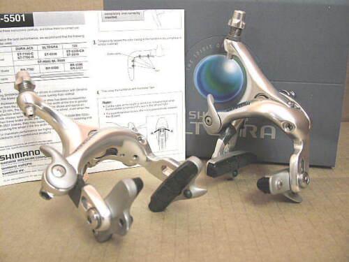 Model BR-6500 New-Old-Stock Shimano Ultegra Brake Caliper Set