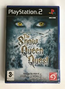 PS2-The-Snow-Queen-Quest-2007-UK-Pal-Brand-New-amp-Factory-Sealed