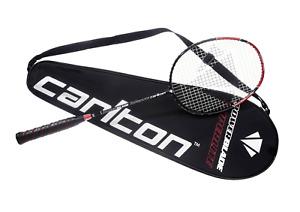 Badminton Schläger Carlton Powerblade Superlite - Black Deluxe Edition 89 Gramm
