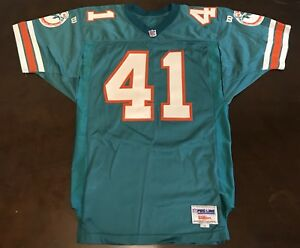 Details about Rare Vintage Wilson Pro Line NFL Miami Dolphins Keith Byars Football Jersey
