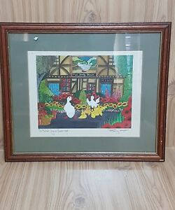 Signed-Artist-Penny-Cox-Stow-039-I-told-you-George-039-2000-Original-Limited-Print