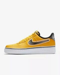 big sale 67b9d 23153 Nike Air Force 1 Low 07 LV8 NBA University Gold White BV1168-700 ...
